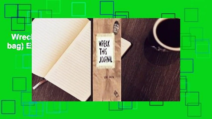 Wreck This Journal (Paper bag) Expanded Ed.  Review