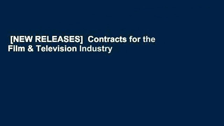 [NEW RELEASES]  Contracts for the Film & Television Industry