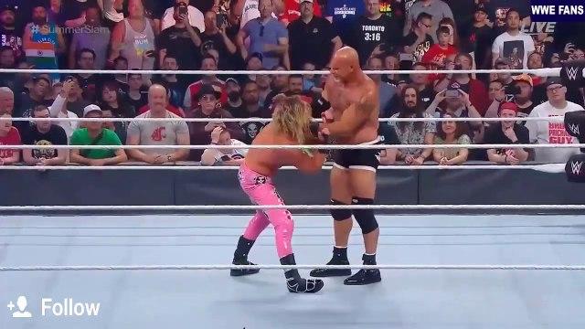 Goldberg vs Dolph Ziggler Summerslam 2019 Highlights