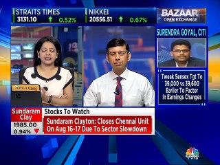 Udayan Mukherjee on market & economic slowdown