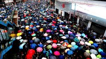 Hong Kong: 1.7 million protesters rally for 11th straight weekend