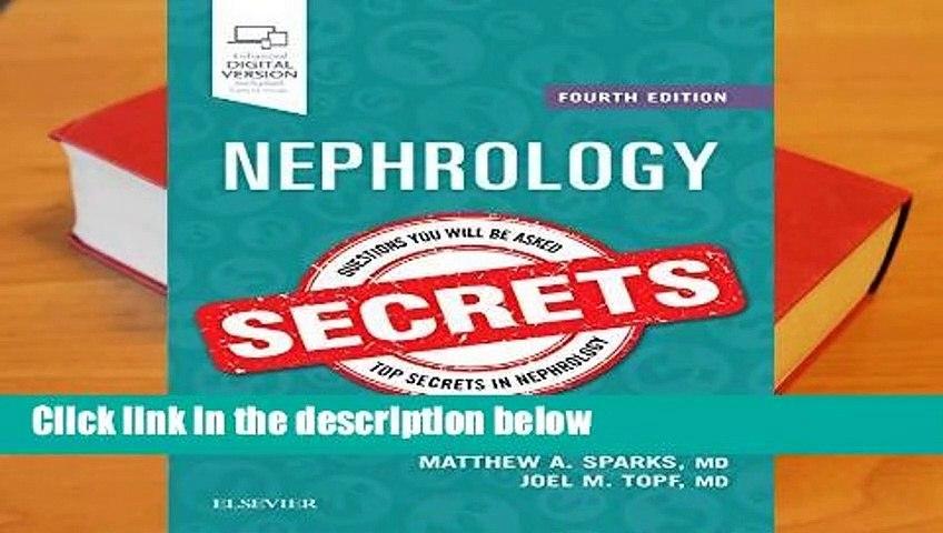 [READ] Nephrology Secrets, 4e