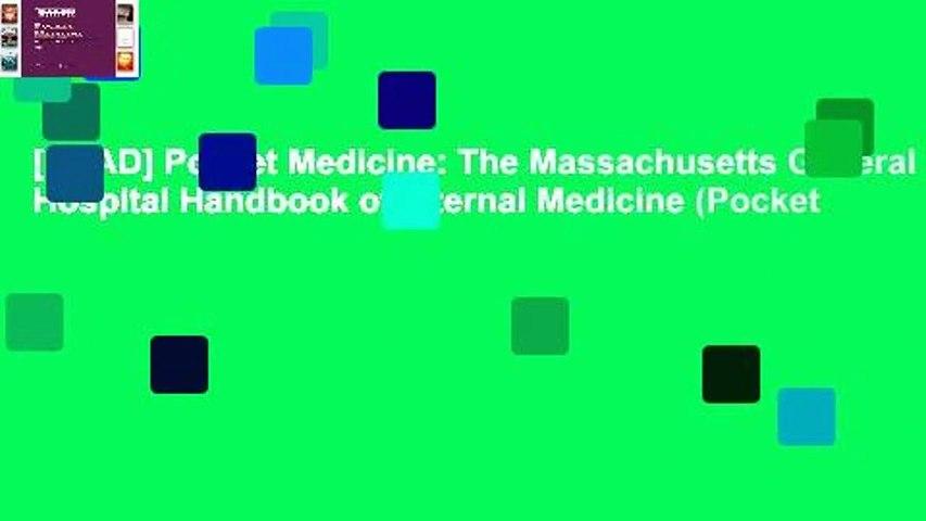 [READ] Pocket Medicine: The Massachusetts General Hospital Handbook of Internal Medicine (Pocket