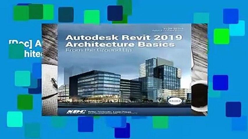 [Doc] Autodesk Revit 2019 Architecture Basics