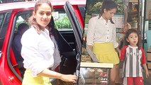 Mira Rajput And Baby Misha Look Adorable As They Step Out For Lunch