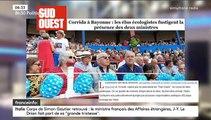 """Sur sa présence à une corrida, le ministre de l'agriculture Didier Guillaume """"regrette que ça ait pu choquer des citoyens qui sont contre ces pratiques"""" - VIDEO"""