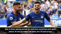 Mount will get better and better - Lampard