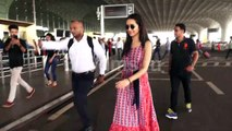 Saaho actress Shraddha Kapoor Flying to Hyderabad Spotted at Airport