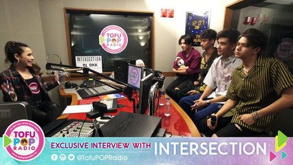 TofuPopRadio - Live Exclusive Interview with 'INTERSECTION