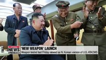 N. Korea could soon deploy new ballistic missile, guided MRL, tactical missile system: Pundits