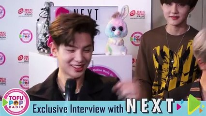 TofuPOP Exclusive Interview with NEXT