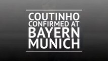 BREAKING NEWS: Coutinho joins Bayern on loan