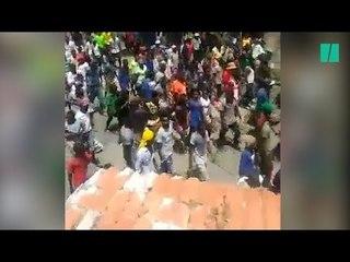 Les Haïtiens sont la rue pour demander la destitution de leur président