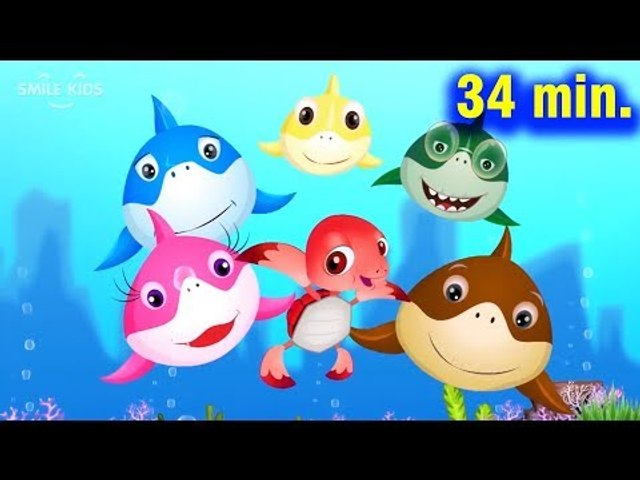 Baby Shark Dance Compilation + More Kids Songs | Nursery Rhymes & Cartoon Songs for Kids