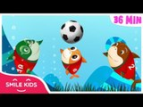 Baby Shark World Cup 2018 | +Compilation and More Kids Songs | Super Simple Songs