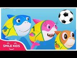 Baby Shark World Cup 2018 ★ Baby Shark Remix - Super Dance Simple Songs • Smile Kids