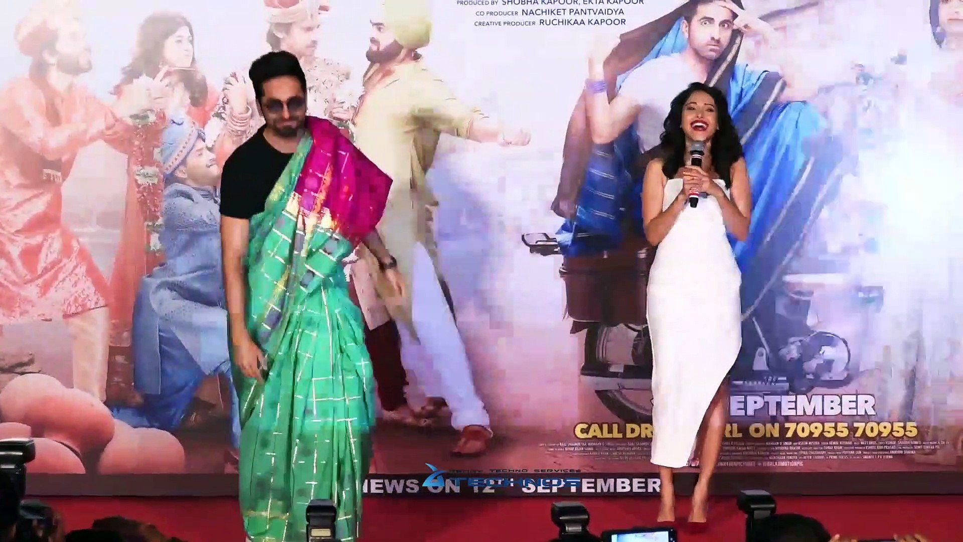 Dream Girl Official Trailer Launch | Complete Event Launch | Ayushmann Khurrana, Nushrat Bharucha