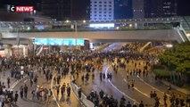 Hong Kong : manifestation record ce week-end