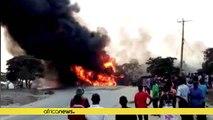 Ouganda : près de 20 morts dans l'explosion d'un camion-citerne