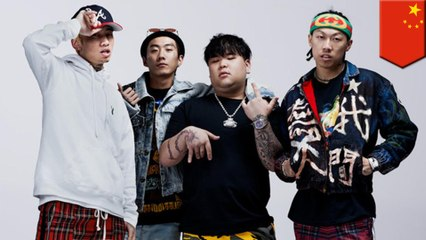 Chinese 'rappers' come out in support of Hong Kong police