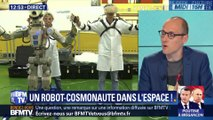 Un robot cosmonaute dans l'espace!