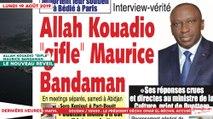 Le Titrologue du 19 Août 2019 : Allah Kouadio «gifle» Maurice Bandaman