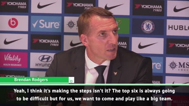 We want to play like a top six team - Rodgers