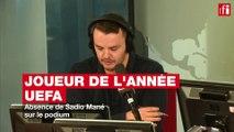 Joueur de l'année UEFA : absence de Sadio Mané sur le podium