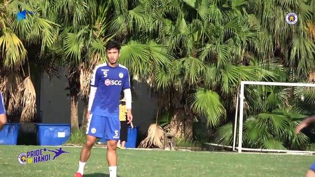 2/3 đội hình của CLB Hà Nội quá tải trước trận Bán kết Liên khu vực gặp Altyn Asyr | HANOI FC