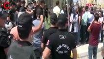 HDP'liler belediyeye girmeye çalıştı