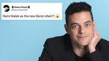 Rami Malek Goes Undercover on Reddit, YouTube and Twitter