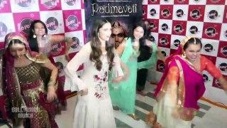 Deepika Padukone Promote Padmavati & Her New Song Ghoomar At Radio Station FEVER 104 FM.