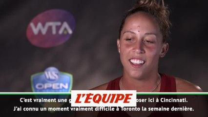 Keys «J'ai donné le meilleur de moi-même» - Tennis - WTA - Cincinnati