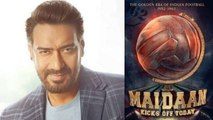 Ajay Devgn starrer biopic Maidaan first poster gets revealed | FilmiBeat
