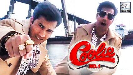 Varun Dhawan In Coolie No. 1 Remake Behind The Scene