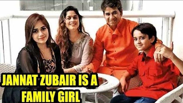 TikTok star Jannat Zubair is a family girl