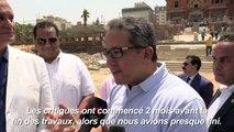 Egypte: polémique autour de la restauration d'un palais