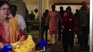 Deepika Padukone, Ranveer Singh Return Mumbai With Family After Bangalore Reception