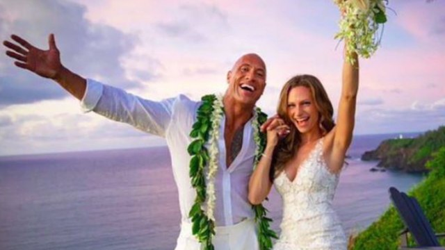 Dwayne Johnson weds Lauren Hashian in Hawaii