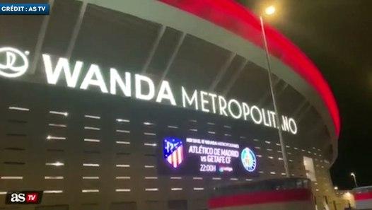 Vidéo : la plaque d'Antoine Griezmann saccagée au Wanda Metropolitano