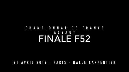 ASSAUT Finale France 2019   F52 - MULLER Sara / BERGANDI Nina