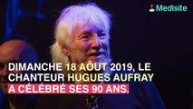 """Les secrets de """"La jeunesse éternelle"""" du chanteur Hugues Aufray."""