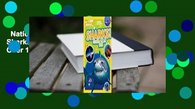 National Geographic Kids Sharks Sticker Activity Book: Over 1,000 Stickers! Complete