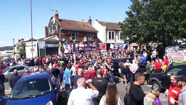 THOUSANDS Celebrate Bristol's Annual Flag Day!