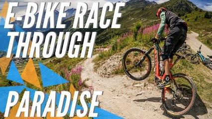 E-Bike fans compete in enduro race Tour du Val de Bagnes   Verbier E-Bike Festival 2019