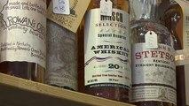 La guerra comercial con Europa hunde la industria del whisky de EEUU