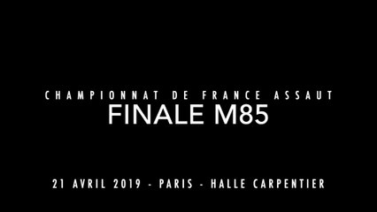 ASSAUT Finale France 2019 - M85 - TRAORE Balla / LADIAS Samuel