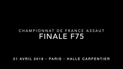 ASSAUT  Finale France - F75 - POCHET Lohane / VERNIER Audrey