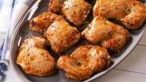 These Boneless Chicken Thighs Have The Best Honey Mustard Glaze