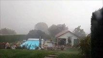 Violent orage de grêle à Belfort
